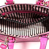Dasein Dome Zip-Around Flat Bottom Fashion Ipad Bag, Handbag - Black
