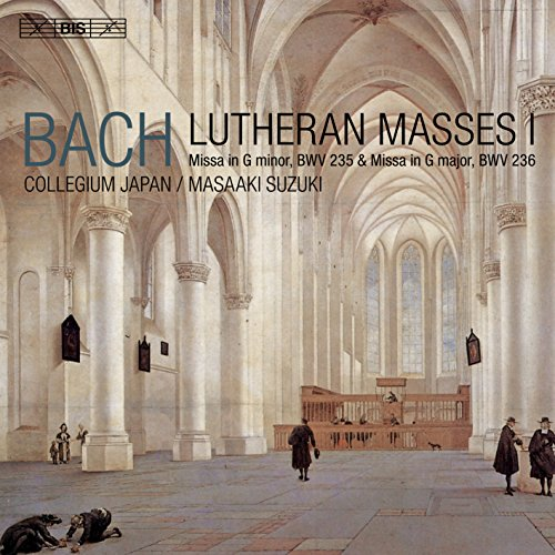 J.S.バッハ : ルター派 ミサ曲集 Vol.1 (Bach : Lutheran Masses I ~ Missa in G minor, BWV 235 & Missa in G major, BWV 236 / Bach Collegium Japan | Masaaki Suzuki) [SACD Hybrid] [輸入盤] [日本語帯・対訳・解説付]