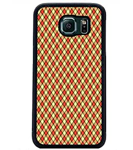 PrintDhaba Pattern D-5930 Back Case Cover for SAMSUNG GALAXY S6 EDGE (Multi-Coloured)