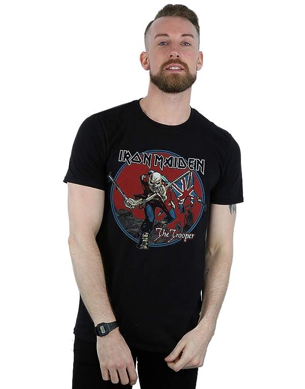 NASA Mens Retro Logo Slim-Fit T-Shirt Indigo
