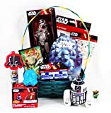Happy Easter May the Force Be with You Star Wars Easter Gift Basket with a Darth Vader Bunny