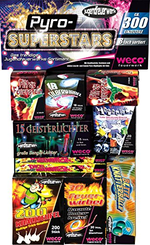 "Weco Jugendfeuerwerk ""Pyro Superstars"" thumbnail"