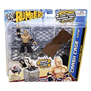 WWE Rumblers Crash Cage Playset With Kane Figure