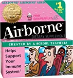 Airborne Effervescent Health Formula Tablets, Pink Grapefruit, 10-Count Tubes (Pack of 3)