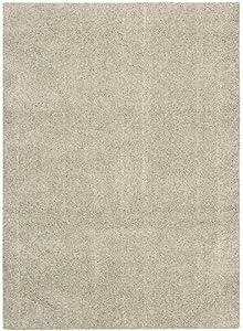 Nourison Suave Shag Slate 5.0-Feet by 7.0-Feet 100% Polyester Area Rug