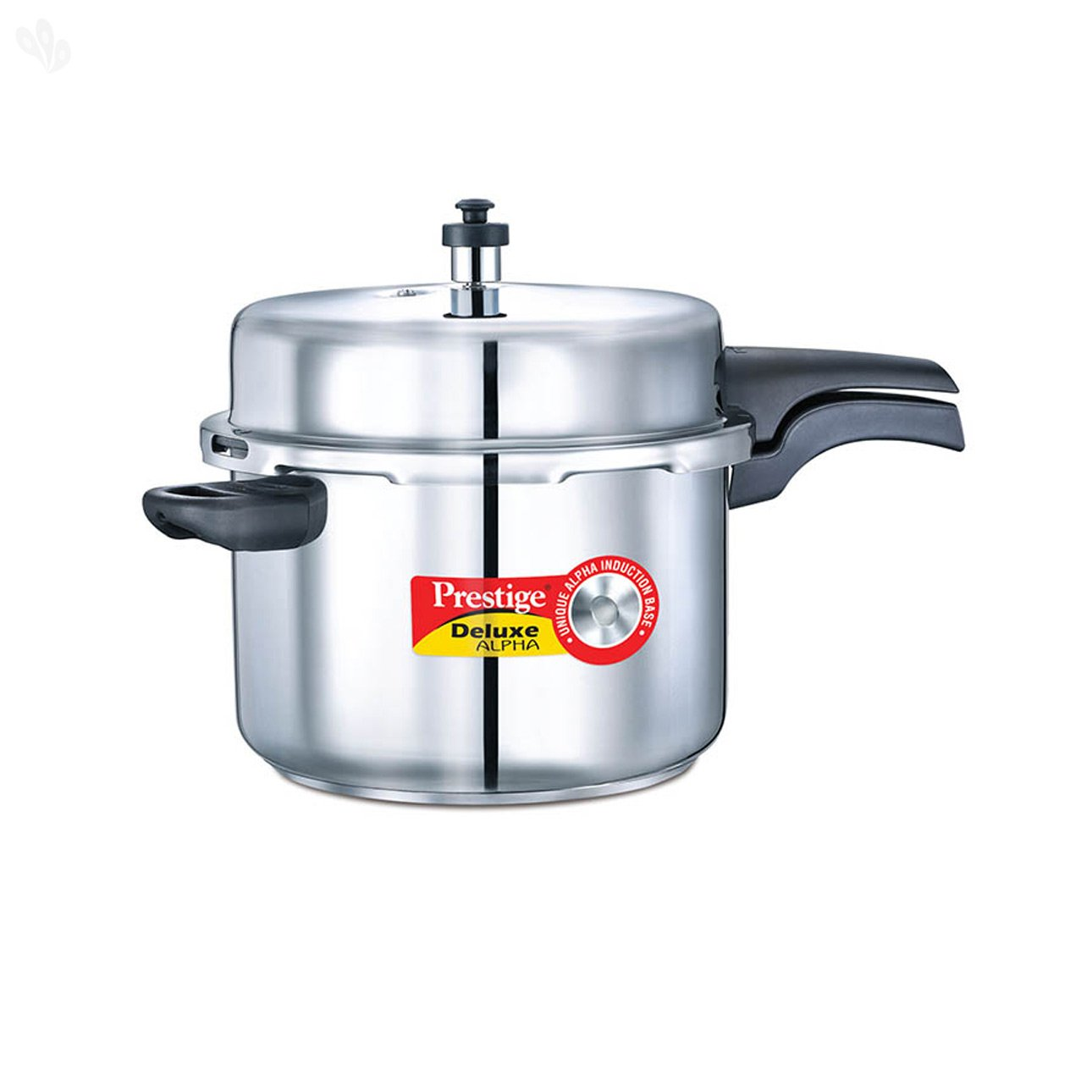 prestige 10 liters alpha deluxe stainless steel pressure cooker ebay. Black Bedroom Furniture Sets. Home Design Ideas