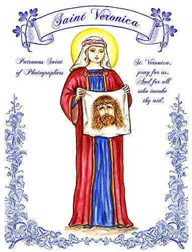 "11"" X 14"" St Veronica, Patroness Saint Of Photographers, Art Print front-648190"