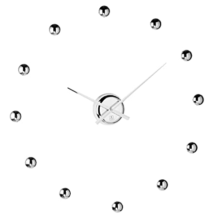 Do It Yourself Ball Clock in Chrome Finish – Wall Clocks