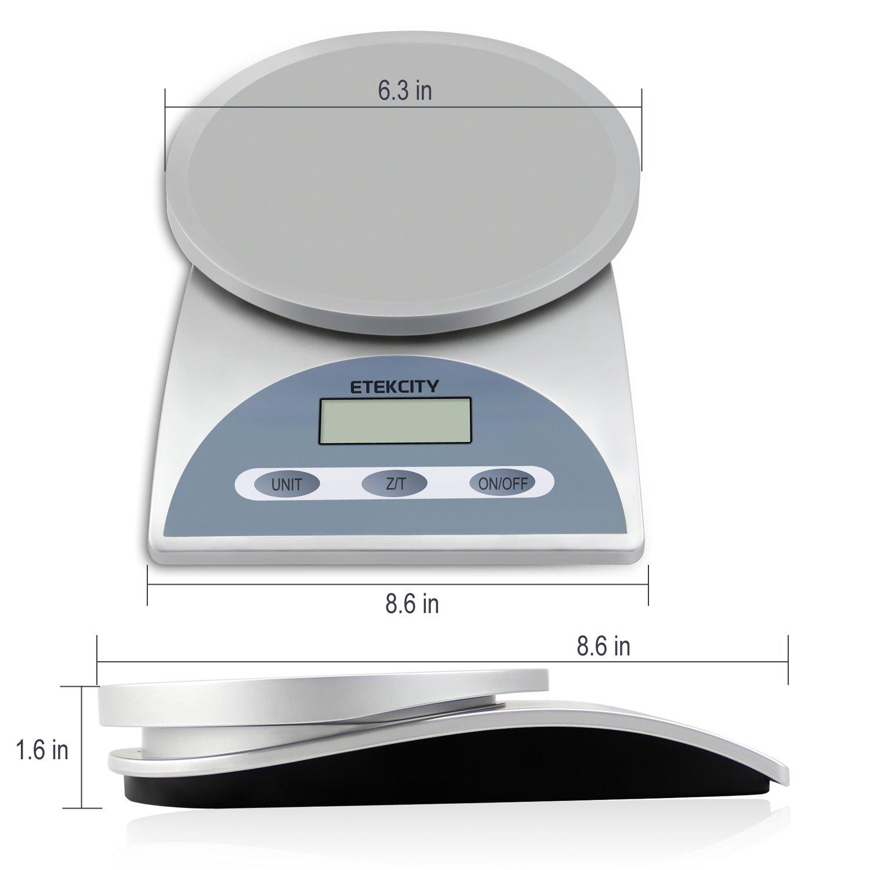 Etekcity 025706343046 Digital Multifunction Kitchen Food Scale Best Digital Scales