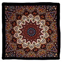Sunshine Joy India Star Bandana Blue and Orange