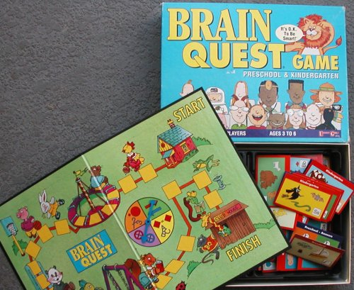 Brain Quest Game - Preschool & Kindergarten Edition - 1