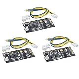 HiLetgo 3pcs M38 Wireless Bluetooth MP3 Audio Receiver Board BLT 4.2 mp3 Lossless decoder Bluetooth 4.2 Audio Receiver Board Wireless Stereo Sound Module