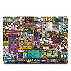Inktree Vinyl Recorder Matte Finish Adhesive Laptop Skin (15 inch x 10 inch, Mulicolor)