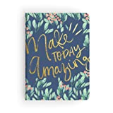 Paper House Productions JL3015 Modern Floral Make Today Amazing Softcover Journal Dot Grid Notebook (Tamaño: Journal Diary)