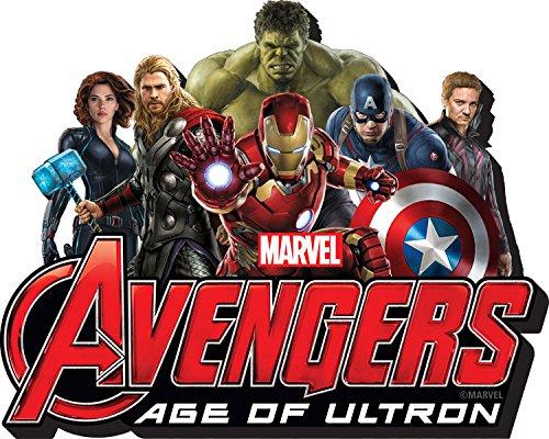 Aquarius Avengers 2 Funky Chunky Magnet - 1
