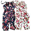 Urparcel Toddler Girl Kids Jumpsuit Short Summer Playsuit Rompers One-piece 2-8Y