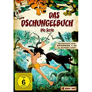 Das Dschungelbuch: Die Serie - Die komplette Serie, Episoden 1-52 [4 DVDs]