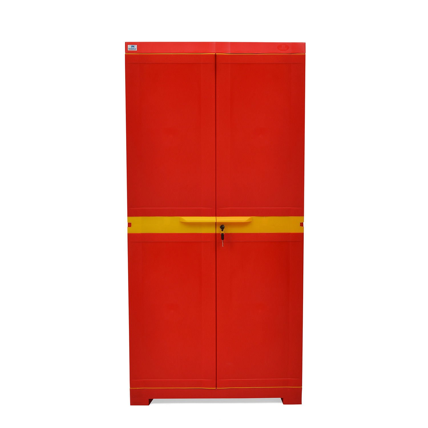 Nilkamal Freedom FMM Mini Medium Storage Cabinet (Red and Yellow) By Amazon @ Rs.3,199