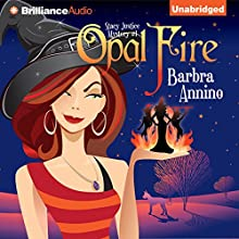 Opal Fire: A Stacy Justice Mystery, Book 1 Audiobook by Barbra Annino Narrated by Amy Rubinate