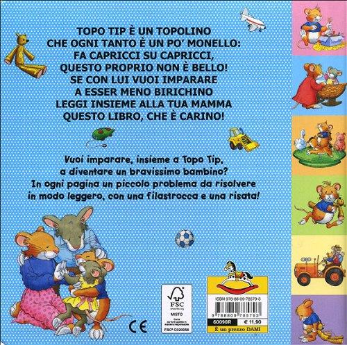 Libro topo tip che monello di anna casalis for Topo tip giocattoli