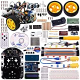 Kuman SM2 Pro Robot Car Kit for Arduino, 2 Wheel Utility Vehicle Inteligente Rob�tica Arduino DS Robot Smart Car kit Obstacle Avoidance,Tracking
