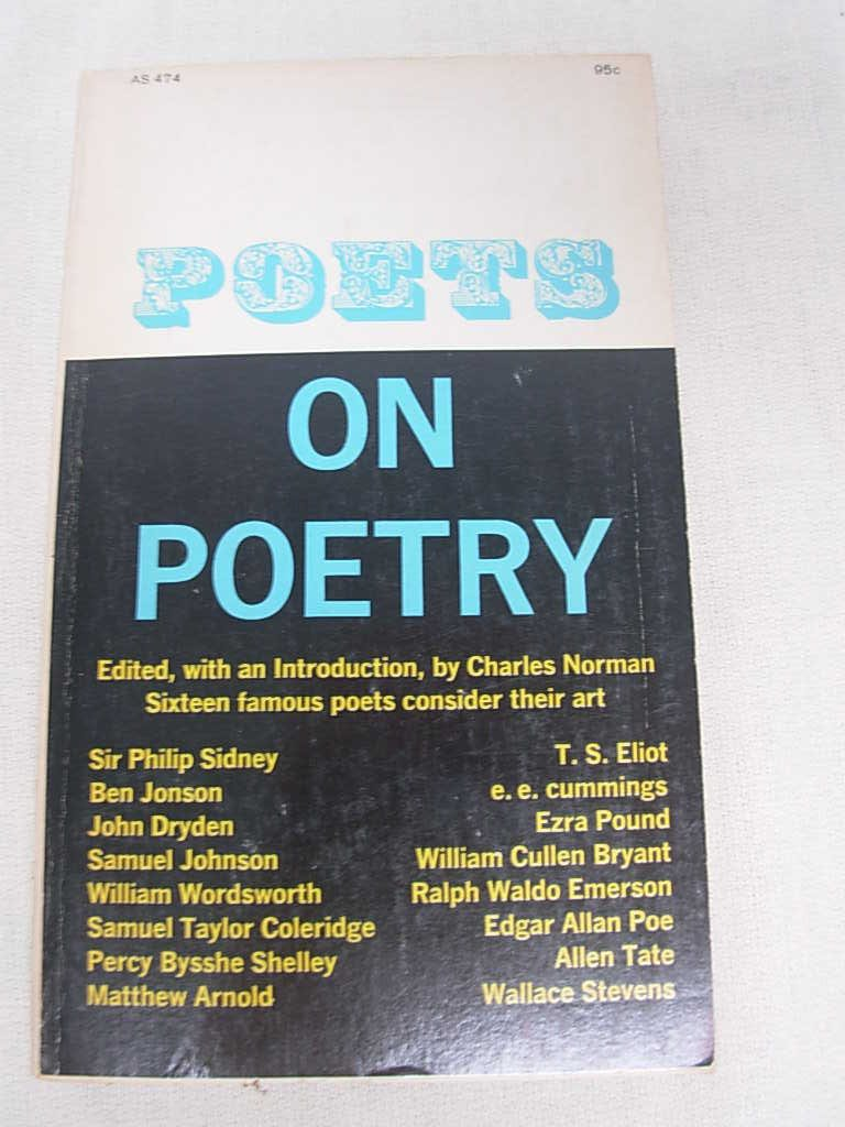 Poets on Poetry, norman, charles