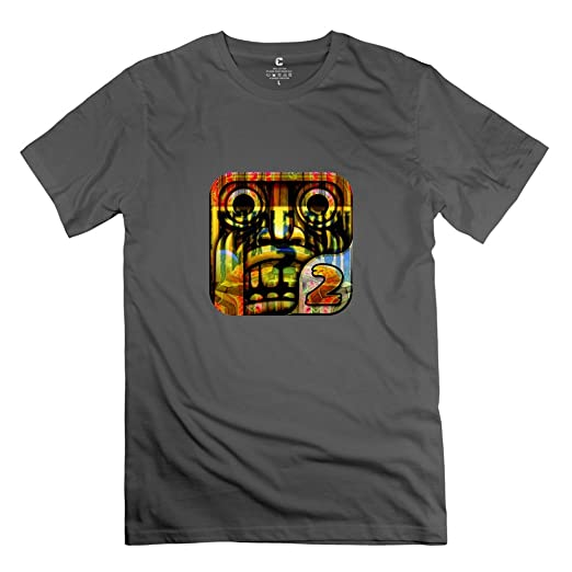 Temple Run Game T Shirt Size XXL DeepHeather