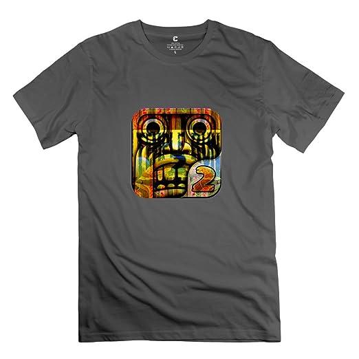 Temple Run Game T Shirt Size XXL DeepHeather