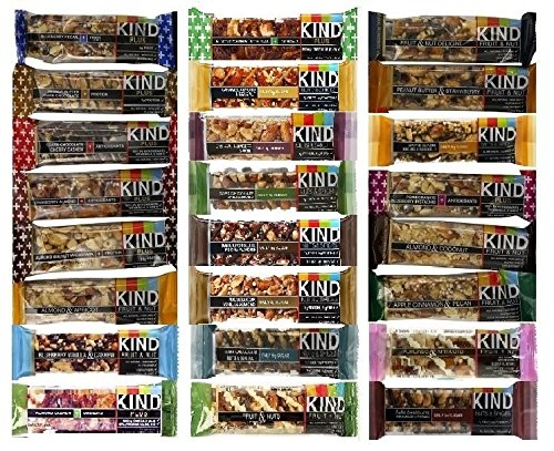 Kind Bar Variety Pack - 24 Flavors! (Kind Bars Yogurt And Apricot compare prices)