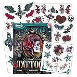 Steampunk Victorian Gothic Cameo Tattoos
