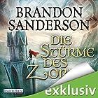 Die Stürme des Zorns (Die Sturmlicht-Chroniken 2.2) (       ungekürzt) von Brandon Sanderson Gesprochen von: Detlef Bierstedt