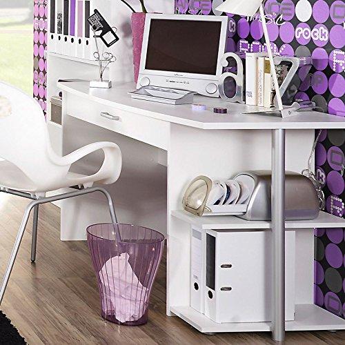 Schreibtisch»PONTIE221« 120cm alpinweiß