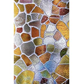 First Stained Glass Window Film 24-by-36-Inches