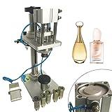 LianDu New Pneumatic Perfume Crimping Machine Capper Perfume Bottle Capper Liquid Locking Sealing Machine Adjustable