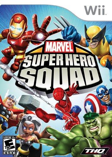 Marvel Super Hero Squad - Nintendo Wii (Super Hero Squad Video Game compare prices)