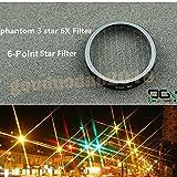 gouduoduo2018 DJI Phantom 3 Professional Advanced Camera Lens Star Filter 6-Point