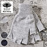 Made in England 【Black Sheep】ブラックシープ WOOL FINGERLESS CLOVE ウールフィンガーレスグローブ 手袋 FMITT 全4色