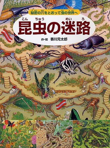 昆虫の迷路