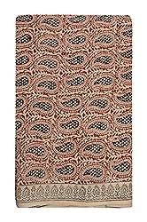 Gulmohar Women's Cotton Unstitched Dress Material (Green)