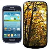 Fancy A Snuggle Autumn Trees in Shades of Yellow and Orange Clip-on Hard Back Cover for Samsung Galaxy S3 Mini i8190
