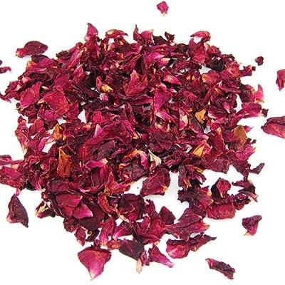 Veroda Dried Rose Petals Flowers Confetti Natural Table Pot Pouri