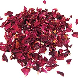 Topro Dried Rose Petals Flowers Natural Wedding Table Confetti Pot Pouri