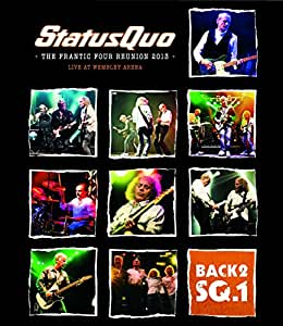 Status Quo - Back2SQ1/The Frantic Four Reunion 2013  (+ CD) [Blu-ray]