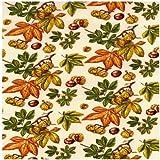 Fat Quarter Horse Chestnut Conkers Quilting Fabric - Nutex - 50cm x 55cm