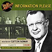Information Please, Volume 1 | Dan Golenpaul