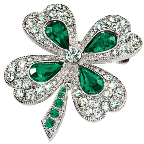 Shamrock Pin by Miles Kimball