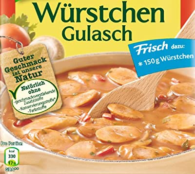 Knorr Fix für Würstchen Gulasch, 11er Pack (11 x 32 g) von Knorr bei Gewürze Shop