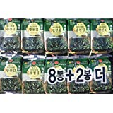 Premium Roasted Seaweed Snack(Green Laver) 5g - Pack of 10
