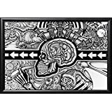 Framed The Conscious Existence 36x24 Poster In Matte Black Finish Wood Frame Art Print