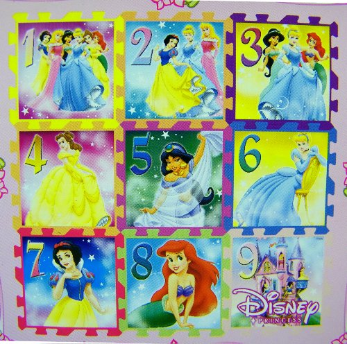 Cheap Fun Disney Princesses Soft Foam Hop Scotch Mat Set (B000NY9ZJ0)